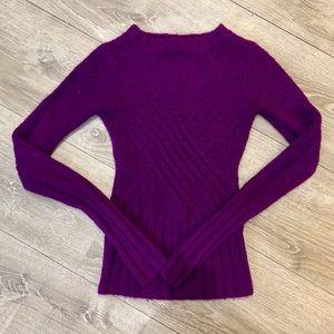 Love Stitch purple sweater💜